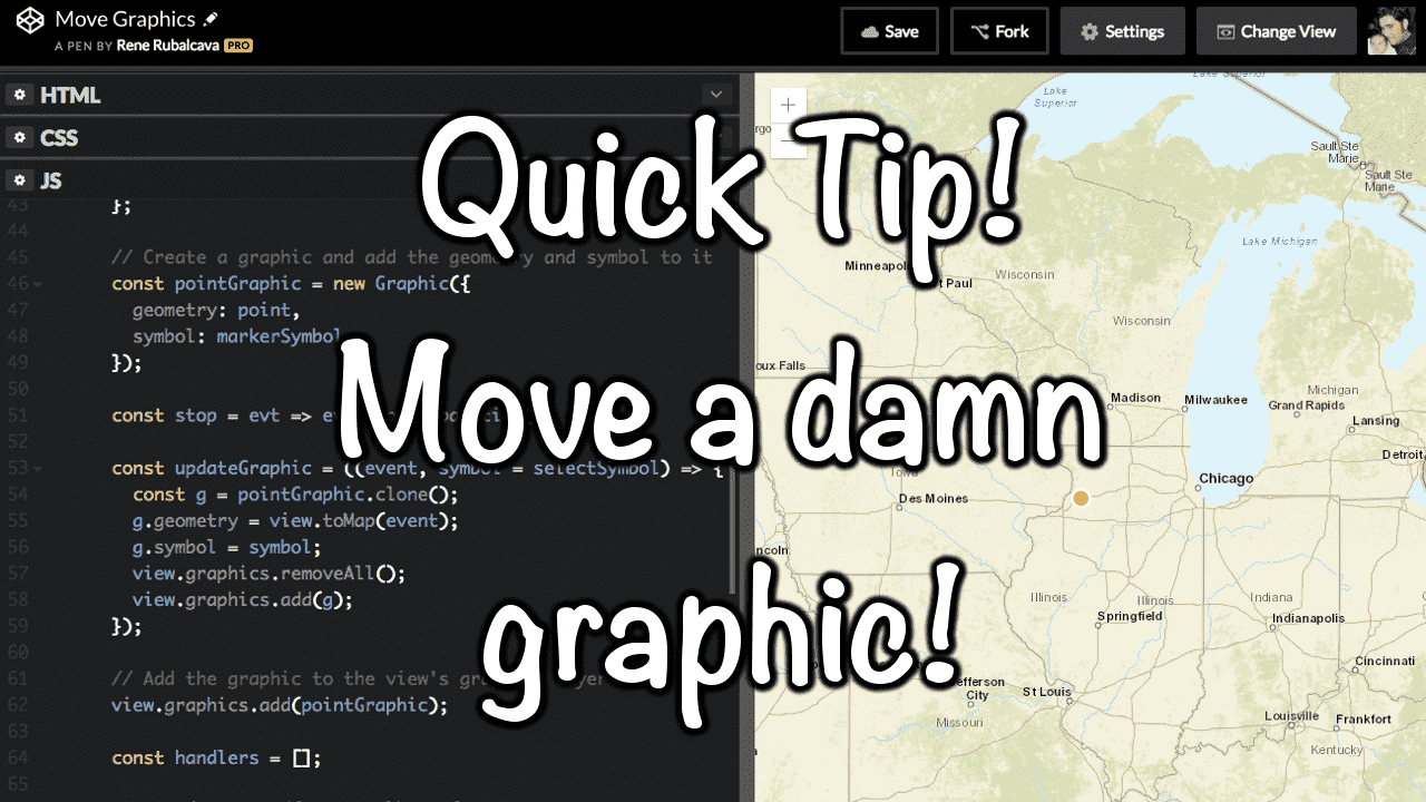 Quick Tip - Move a Graphic