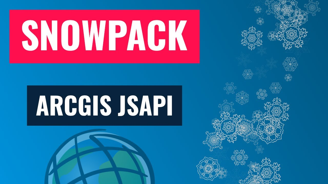 Snowpack is a great tool for building apps, especially the ArcGIS JSAPI